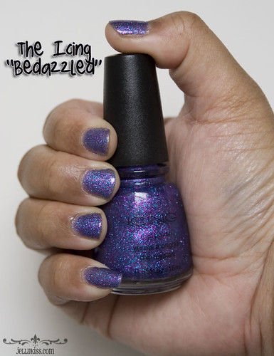 "The Iciing ""Bedazzled"" nail polish"