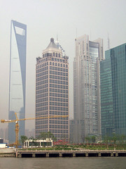 Shanghai World Financial Center (loitz79) Tags: geo:lat=3124809100 geo:lon=12150050400 geotagged china chn hongkou huangpufluss pudong shanghai shanghaishi shanghaiworldfinancialcenter smog
