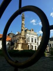 DL03 (DLMDW) Tags: hungary magyarorszg veszprm szenthromsg szobor templom