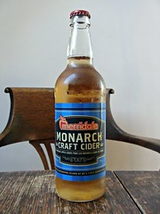 Monarch Craft Cider (knightbefore_99) Tags: bottle craft cider bc tasty apple drink delicious merridale table wood label local awesome pomme cidre