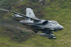 RAF Tornado GR4 (benstaceyphotography) Tags: royal air force marham panavia ground reconnaissance raf tornado gr4fast jet fighter bomber united kingdom lowlevel wales nikon military aviation