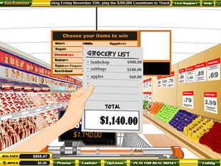 free Supermarket slot bonus game