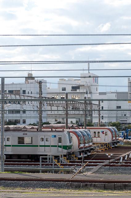 東京メトロ千代田線6000系6126F 新木場CRへ回送