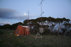 "Field day station on Mt Ginini, after sunset (1/6 sec) • <a style=""font-size:0.8em;"" href=""http://www.flickr.com/photos/10945956@N02/5202201778/"" target=""_blank"">View on Flickr</a>"