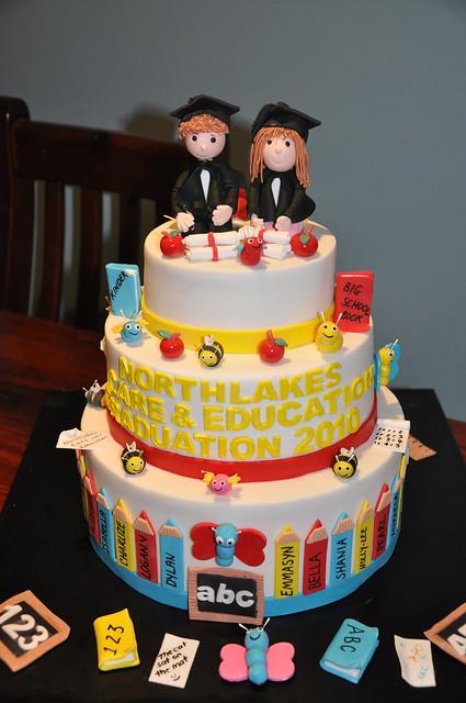 Preschool Graduation Cake