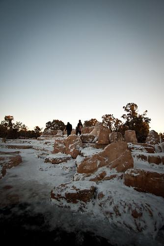 Freezing Rocks