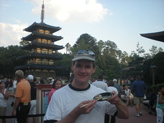 Dennis in Japan?  Nope it's Disneyworld!