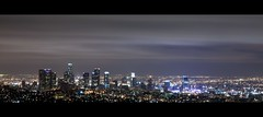 los angeles (Eric 5D Mark III) Tags: city longexposure light sky cloud night canon landscape losangeles downtown cityscape observatory griffith ef24105mmf4lisusm horizontalpanorama eos5dmarkii hpano
