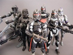 Shadow army (nuo2x2) Tags: shadow trooper black starwars action scout collection covert figure stormtrooper ops hasbro clonetrooper scouttrooper utapau nuo2x2