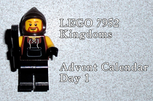 LEGO 7952 Kingdoms Advent Calendar - Day 1