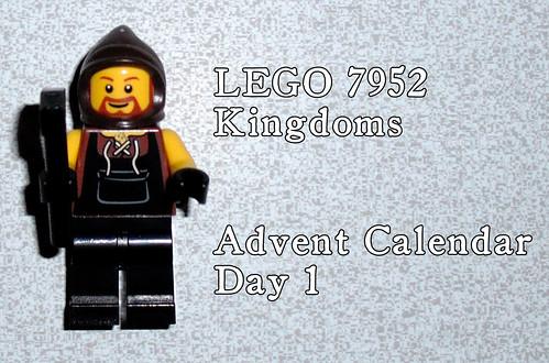 LEGO 7952 Kingdoms Advent Calendar - Day 1