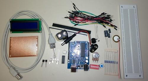 Kit Arduino do http://www.CursoDeArduino.com.br/