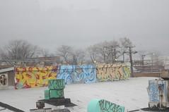 Wil Gem Buck (EMENFUCKOS) Tags: chicago wil graffiti buck gem aom