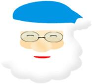 Papa Noel para decorar tu blog
