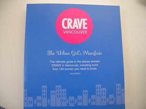 Crave Vancouver Book