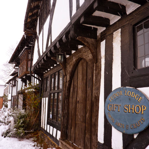 Chilham in the snow ~ village