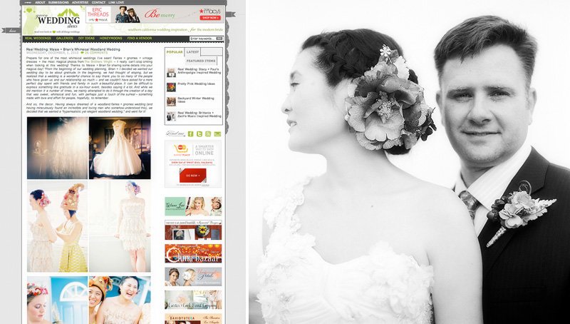 B&M - Featured on greenweddingshoes.com
