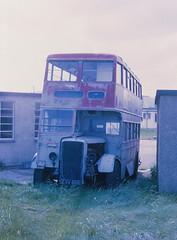 Double deck caravan CAV898 Durness (Guy Arab UF) Tags: bus buses scotland utility caravan sutherland 1945 durness daimler wartime balnakeil lowbridge duple alexandermidland highlandomnibuses cwa6 walexandersons sutherlandofpeterhead cav898