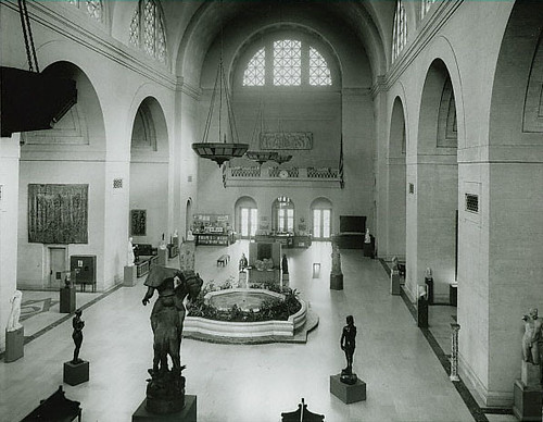 SLAM Sculpture Hall 1950.JPG