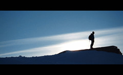 Project C.I.N.E.M.A.T.I.C: Horizon (Siannon) Tags: mountain ski silhouette cinematic monginevro
