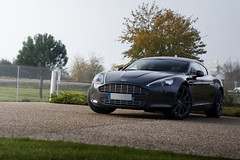 Smooth Rapide ([ JR ]) Tags: auto france car canon eos grey gris martin bordeaux exotic showroom 17 50 tamron luxe aston rapide mrignac 55d poerformance fialeix