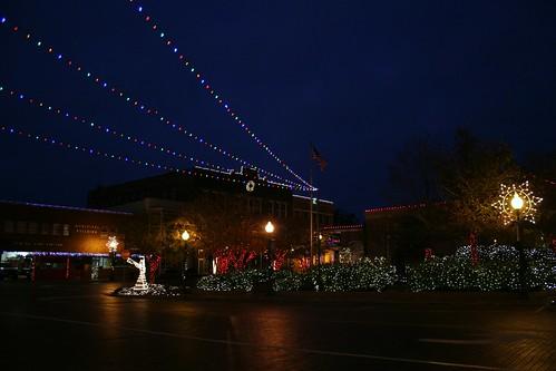 downtown nac at christmas