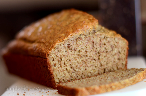 Almond Bread (with un-blanched almond flour)