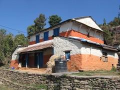 House, Kaski Ridge, Pokhara District, Nepal (east med wanderer) Tags: nepal house trekking trek himalayas theindiatree worldtrekker kaskiridge pokharadistrict