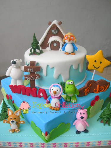 Pororo Cake for WIna