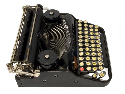 Oliver portable typewriter