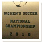 Women's soccer team savors national experience