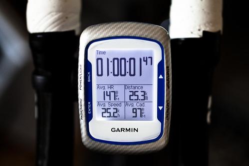 25.3km ave25.2 60min