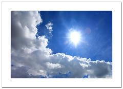 Cloud of the day (SHAZRAL) Tags: blue sky cloud sun white canon eos nice day malaysia klang selangor ef1740mmf4lusm azralfikri shazral 5dmark2