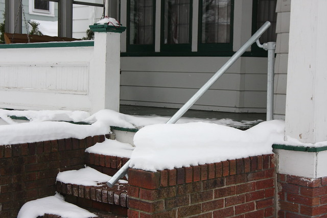 Handrail Winter