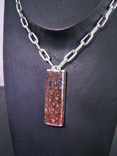 Gembone Inlay Necklace
