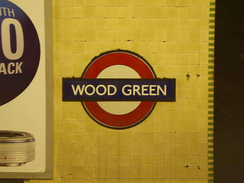 18 Wood Green (train terminated)