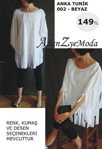 Anka Tunik 002 white