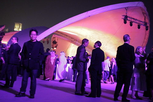 The opening party of Dubai Film Fest