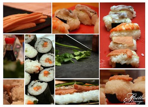Sushi collage!