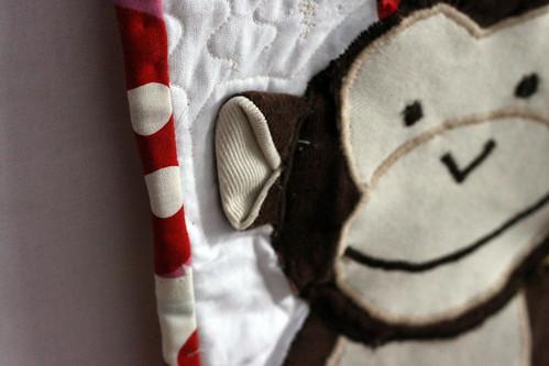 monkey quilt.