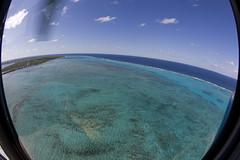 Cayman Islands Helicopter tour (blueheronco) Tags: tour aerialview helicopter caymanislands grandcayman caribbeansea fisheyelense caymanislandshelicopters