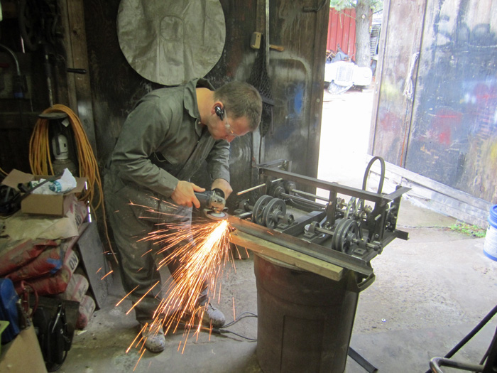 Grinding Transmission Welds