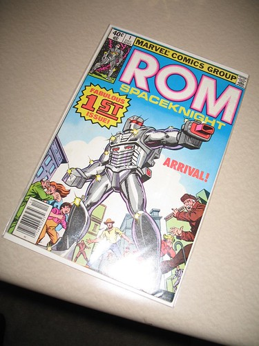 ROM: Spaceknight #1!