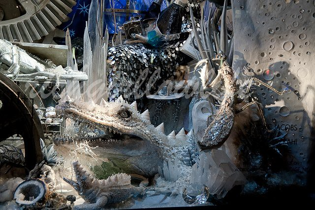 bergdorf goodman xmas window  @ 2010