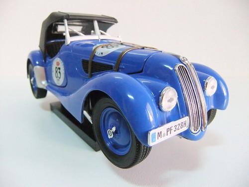 1936 Bmw 328. BMW 328 RALLY (1936) - RICKO