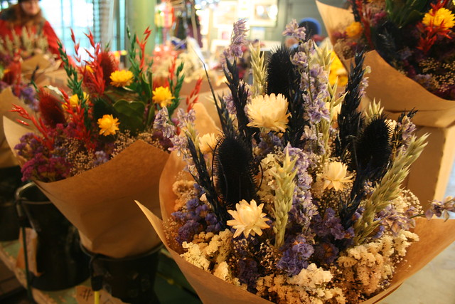 dried market flowers