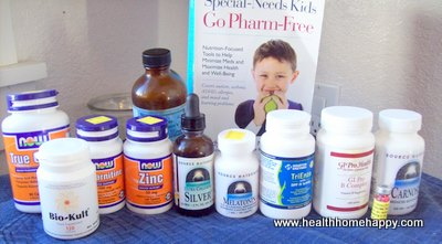 Supplements for autism
