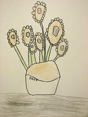 R van gogh flowers