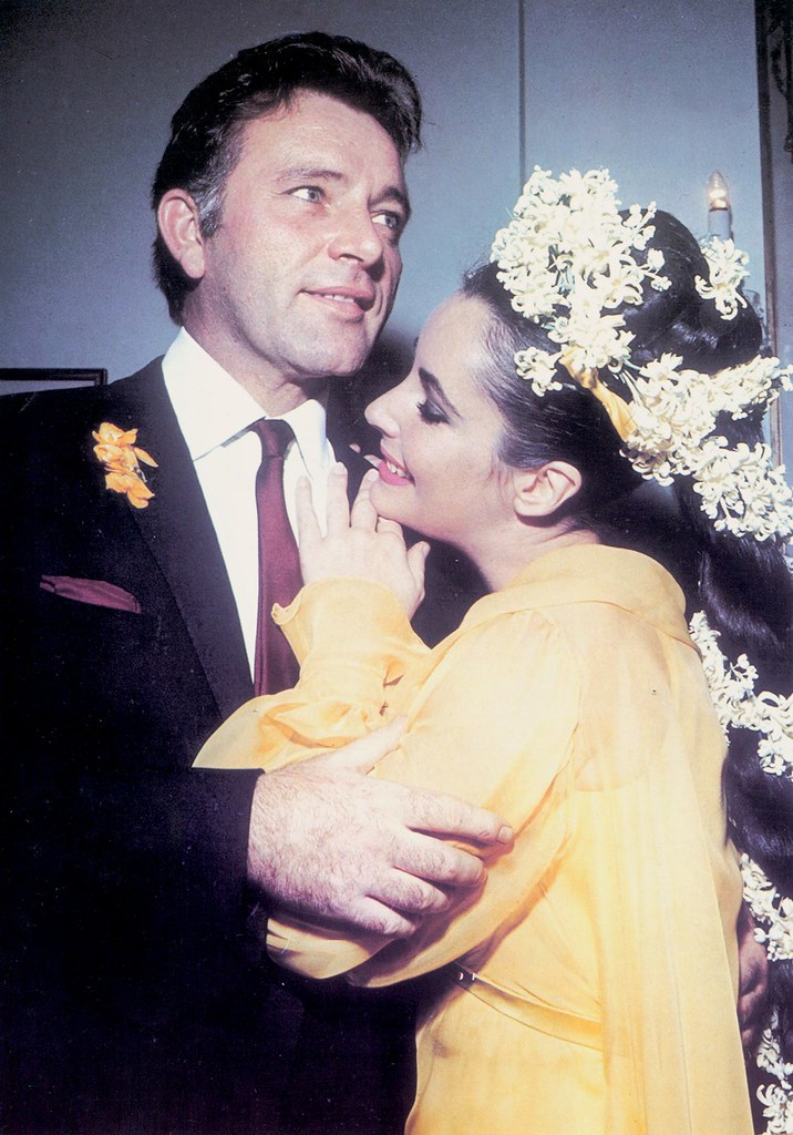 Elizabeth Taylor And Richard Burton Wedding Richard Burton And Elizabeth
