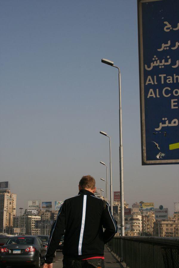 justin into Cairo 2